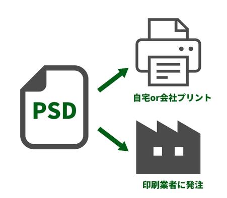 PSDデータ納品