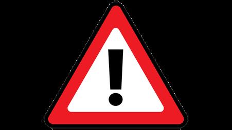 Nebenwirkungen von der Xailin Night Augensalbe, Ausrufezeichen bzw. Warnschild als Symbol