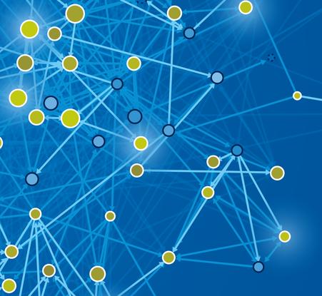 Soziales Netzwerk im Detail (Ausschnitt) © Michael Stünzi