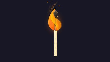Der Mensch ist für viele Waldbrände verantwortlich © Michael Stünzi