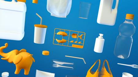 Jedes Jahr gelangen Millionen Tonnen Plastikmüll in die Ozeane (Ausschnitt aus dem Film) © Michael Stünzi