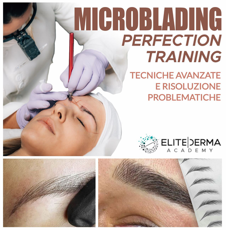 corso corsi avanzato avanzati microblading perfection training