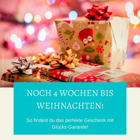 So findest du das perfekte Geschenk mit Glücks-Garantie! Geschenke die glücklich machen.