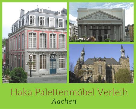 Eventmöbel mieten / Palettenmöbel Verleih & Vermietung in Aachen und Umgebung