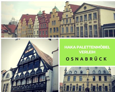 Eventmöbel mieten / Palettenmöbel Verleih & Vermietung in Osnabrück und Umgebung