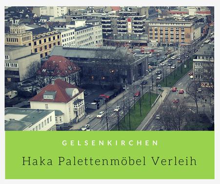 Eventmöbel mieten / Palettenmöbel Verleih & Vermietung in Gelsenkirchen und Umgebung