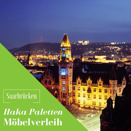 Eventmöbel mieten / Palettenmöbel Verleih & Vermietung in Saarbrücken und Umgebung