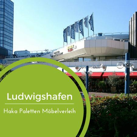 Eventmöbel mieten / Palettenmöbel Verleih & Vermietung in Ludwigshafen und Umgebung