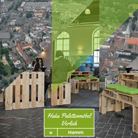 Eventmöbel mieten / Palettenmöbel Verleih & Vermietung in Hamm (Nordrhein-Westfalen) und Umgebung