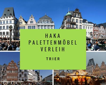 Eventmöbel mieten / Palettenmöbel Verleih & Vermietung in Trier und Umgebung