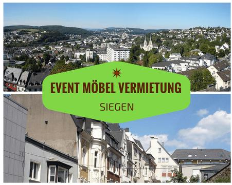 Eventmöbel mieten / Palettenmöbel Verleih & Vermietung in Siegen und Umgebung