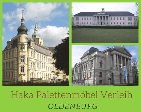 Eventmöbel mieten / Palettenmöbel Verleih & Vermietung in Oldenburg und Umgebung