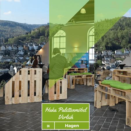 Eventmöbel mieten / Palettenmöbel Verleih & Vermietung in Hagen (Nordrhein-Westfalen) und Umgebung