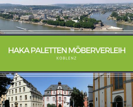 Eventmöbel mieten / Palettenmöbel Verleih & Vermietung in Koblenz und Umgebung