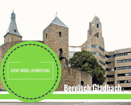 Eventmöbel mieten / Palettenmöbel Verleih & Vermietung in Bergisch Gladbach und Umgebung
