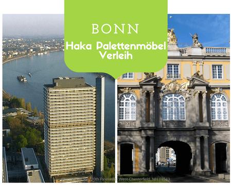 Eventmöbel mieten / Palettenmöbel Verleih & Vermietung in Bonn und Umgebung