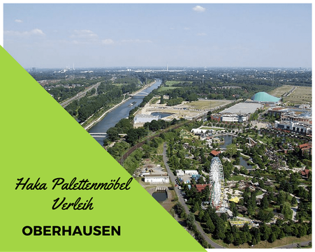 Eventmöbel mieten / Palettenmöbel Verleih & Vermietung in Oberhausen und Umgebung