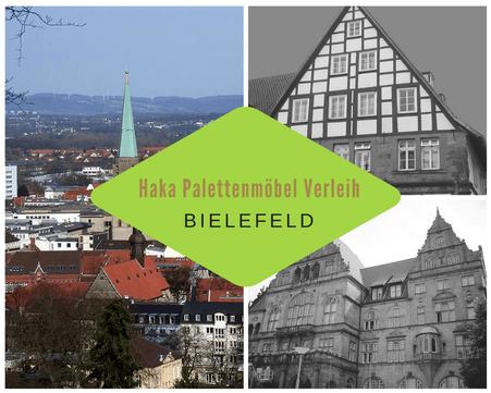 Eventmöbel mieten / Palettenmöbel Verleih & Vermietung in Bielefeld und Umgebung