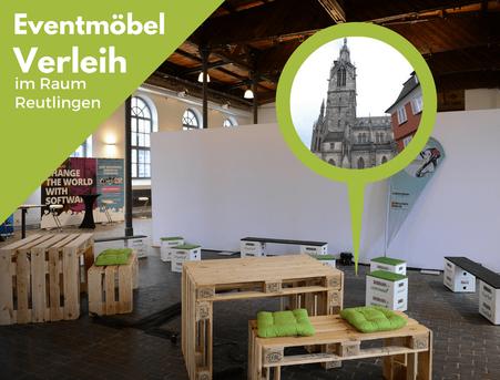 Eventmöbel mieten / Partymöbel Verleih & Vermietung in Reutlingen (Oberschwaben) und Umgebung