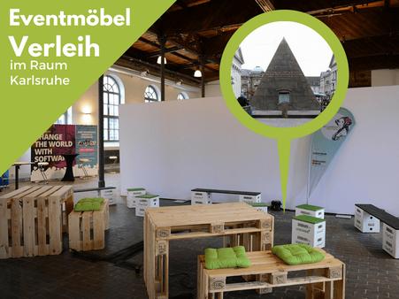 Eventmöbel mieten / Partymöbel Verleih & Vermietung in Karlsruhe und Umgebung