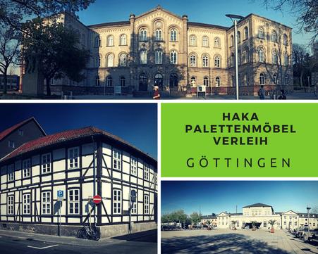 Eventmöbel mieten / Palettenmöbel Verleih & Vermietung in Göttingen und Umgebung