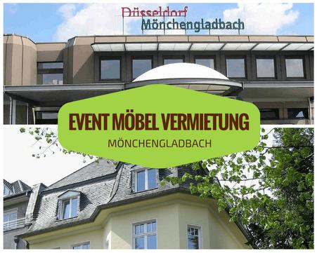 Eventmöbel mieten / Palettenmöbel Verleih & Vermietung in Mönchengladbach und Umgebung