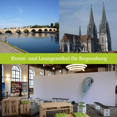 Eventmöbel mieten / Partymöbel Verleih & Vermietung in Regensburg (Oberpfalz) und Umgebung