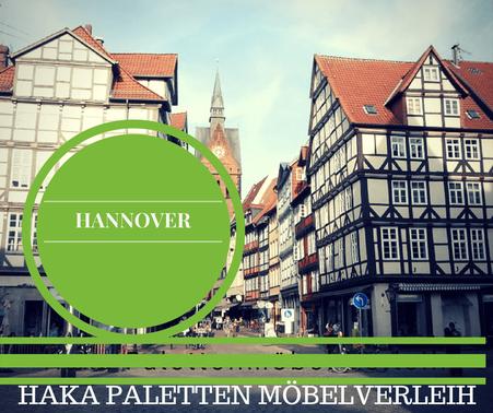 Eventmöbel mieten / Palettenmöbel Verleih & Vermietung in Hannover und Umgebung