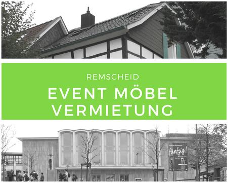 Eventmöbel mieten / Palettenmöbel Verleih & Vermietung in Remscheid und Umgebung