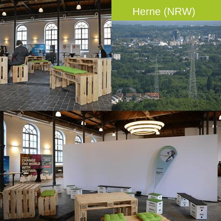 Eventmöbel mieten / Palettenmöbel Verleih & Vermietung in Herne (Nordrhein-Westfalen) und Umgebung
