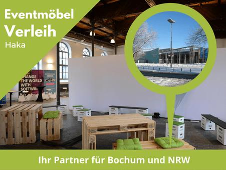 Eventmöbel mieten / Palettenmöbel Verleih & Vermietung in Bochum (Nordrhein-Westfalen) und Umgebung