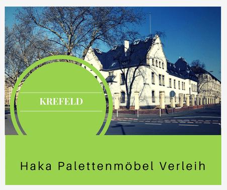 Eventmöbel mieten / Palettenmöbel Verleih & Vermietung in Krefeld und Umgebung