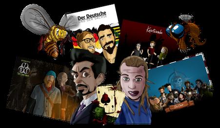 Illustration, Charakterdesign, Comic