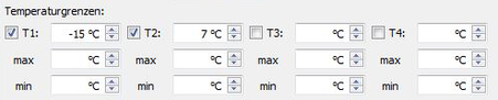 Temperaturüberwachung mit der Baumaschinen-Ortung