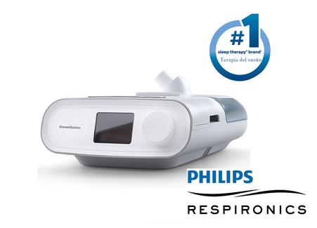 equipos apnea del sueño cpap bipap dream station philips resprionics
