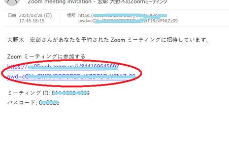 Zoomの操作説明のスクリーンショット