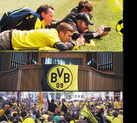 Fussball Fieber Dortmund Borussia
