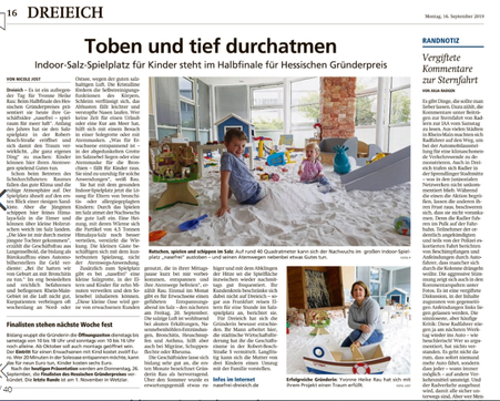 Offenbach Post 16.09.2019