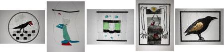 Karin Hubert CCAA Studioglas glaskunst glasgalerie glassart blownglass handblown kunsthandwerk unikat collect köln cologne angewandt kunst sammlung ausstellung design paperweight briefbeschwerer exhibition verresoufflé galerieduverre interiordesign