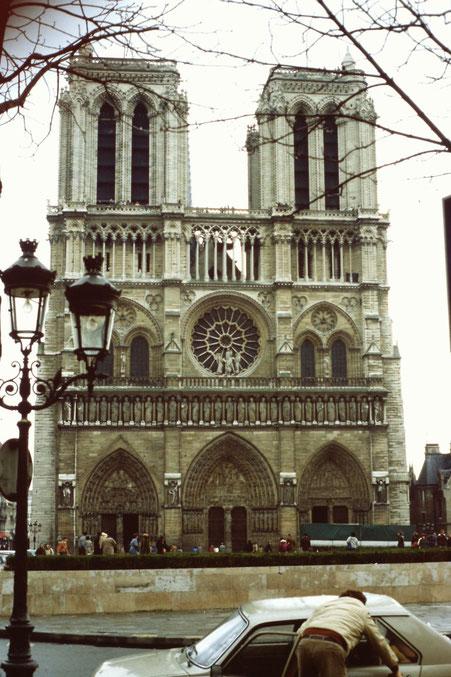 Frankreich, Paris, Sehenswürdigkeit, Notre-Dame, Seine
