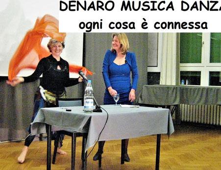 Denaro Danza e Musica approcio olistico Irina Reylander