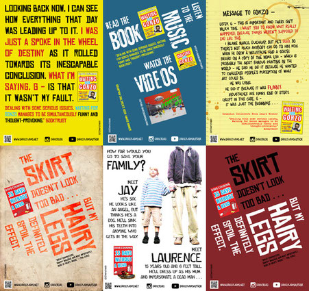 Dave Cousins Library Display Posters