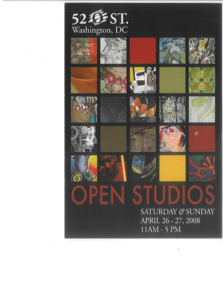 52 O st. Open Studios Flyer