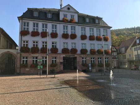 Rathaus Miltenberg - Wer wird Chef/Chefin?