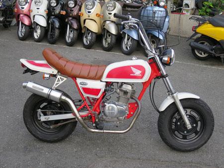Ape50 赤白 カスタムシート