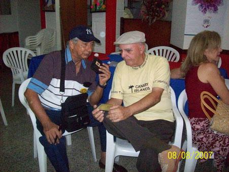 """José Acuña Campo """"Sonorazos del Caribe"""" y Helio Orovio, Medellín 2007."""