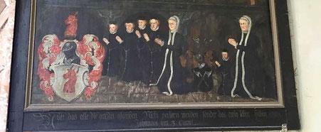 Die Strasser von Neidegg in der Weitmoser Kapelle in Bad Hofgastein