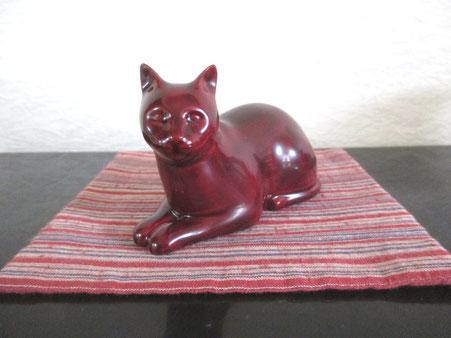 猫 「置物」①