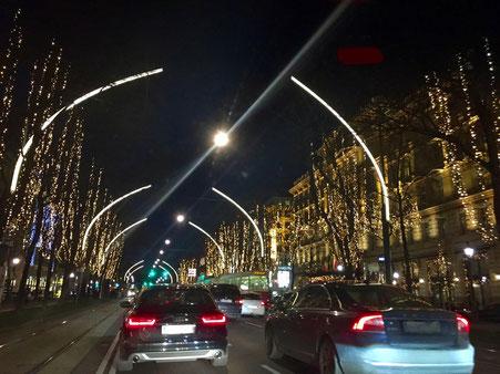 weihnachtliche Ringstrasse in Wien