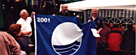 Verleihung der Blauen Europa Flagge